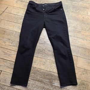 Citizens Of Humanity Black Olivia Jeans sz 30 EUC